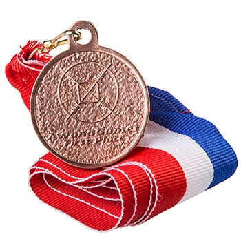 AwanaGames T&T Bronze 1st Place Medal