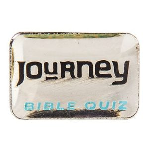 Journey Bible Quiz Pin