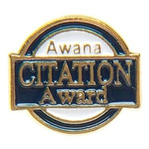 Citation Award Pin