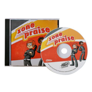 High Power Soccer Zone Praise Music CD - Mission:Unstoppable
