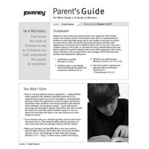 A Study in Romans Parent's Guide - Free Download