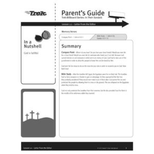 Billboard: In Their Sandals Parent's Guide - Free Download