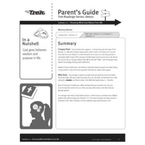 Roadsign: Detour Parent's Guide - Free Download