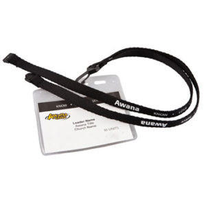 Black Leader Lanyard