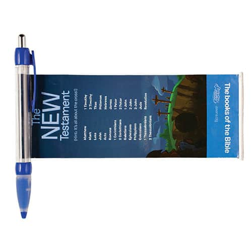 Books of the Bible Banner Pen 2