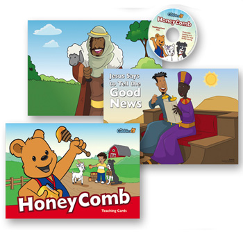 HoneyComb Teaching Cards with Resource CD