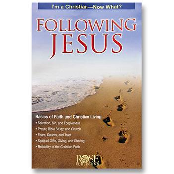 Following Jesus Brochure