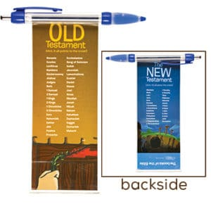 Books of the Bible Banner Pen