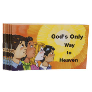 God's Only Way To Heaven - Kids Booklet