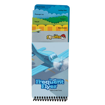 WingRunner Frequent Flyer Extra-Credit Book