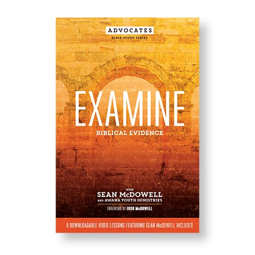 NEW! Advocates Bible Study Series: Examine Biblical Evidence (8 weeks)