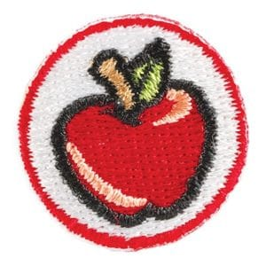 Achievement Emblem - Red Apple