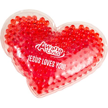 NEW! Gel Heart Hot/Cold Pack