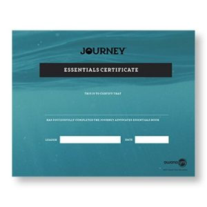 Journey Advocates Essentials Certificate