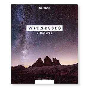 NEW! Journey: Witnesses Bible Study