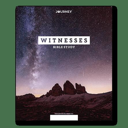 NEW! Journey: Witnesses Bible Study