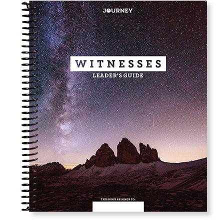 NEW! Journey: Witnesses Leader's Guide