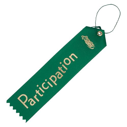 Participation Ribbon
